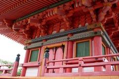 kiyomizutempel Fotografering för Bildbyråer