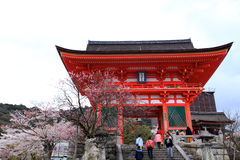 Kiyomizutempel, Japan Royalty-vrije Stock Afbeelding