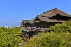 Kiyomizutempel, Kyoto Stock Afbeeldingen