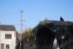 Kiyona bridge. A very old stone arch bridge Royalty Free Stock Photo