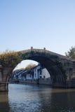 Kiyona bridge. A very old stone arch bridge Stock Images