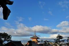 Kiyozumi-Dera in Kyoto royalty-vrije stock afbeeldingen