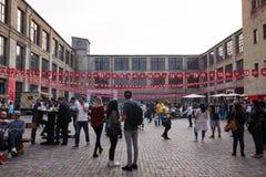Kiyv街道食物节日 免版税库存照片