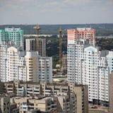 Kiyv, de Oekraïne, luchtmening Stock Foto