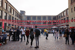 Kiyv street food festival Royalty Free Stock Photo