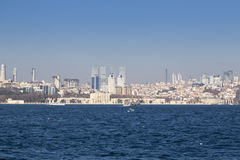Kiz Kulesi,少女` s塔,伊斯坦布尔 免版税图库摄影
