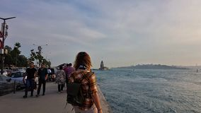 Kiz kulesi Istanbuł zdjęcie stock