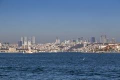 Kiz Kulesi, jungfru- torn för ` s, Istanbul Fotografering för Bildbyråer
