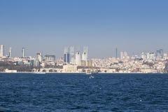 Kiz Kulesi, jungfru- torn för ` s, Istanbul Royaltyfri Fotografi