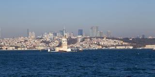 Kiz Kulesi, Maiden`s Tower, Istanbul Stock Image