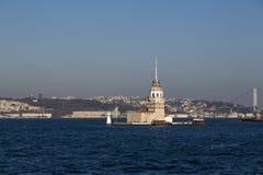 Kiz Kulesi, Maiden`s Tower, Istanbul Royalty Free Stock Photography