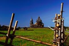 Kizhi †'Rosyjski dziedzictwa kulturowego miejsce Obrazy Royalty Free