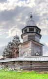 Kizhi. Ancient church of Transfiguration Royalty Free Stock Photography