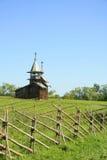 Kizhi chapel. Wooden russian chapel on Kizhi island, northen Russia Stock Photography