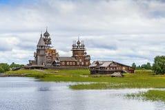 Kizhi-Insel, Russland lizenzfreie stockbilder