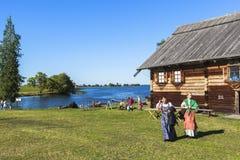 Kizhi-Insel in Russland Stockbilder