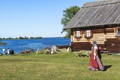 Kizhi-Insel in Russland Lizenzfreies Stockfoto