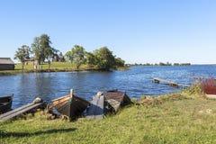 Kizhi-Insel in Russland Lizenzfreies Stockbild