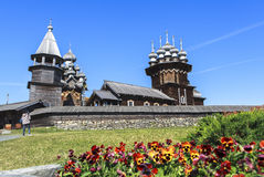 Kizhi-Insel in Russland Stockfotografie