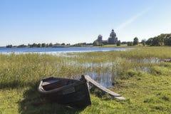 Kizhi-Insel in Russland Stockfoto