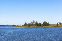 Kizhi Island in Russia Stock Images