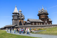 Kizhi Island in Russia Stock Photo