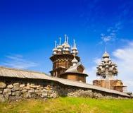 Kizhi Kloosterlandschap royalty-vrije stock foto's