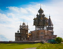 Kizhi. Monastery landscape! Royalty Free Stock Photos