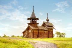 Kizhi. Old wooden church Royalty Free Stock Photos