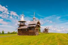 Kizhi Paesaggio del monastero fotografie stock