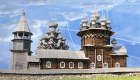 Kizhi Pogost em Rússia imagem de stock royalty free