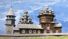 Kizhi Pogost en Rusia Imagen de archivo libre de regalías