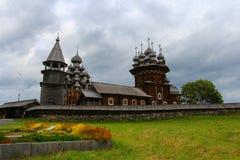 Kizhi Pogost i Ryssland Royaltyfri Fotografi