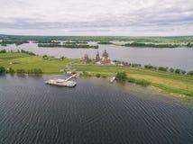Kizhi Pogost, Karelia, Rosja fotografia royalty free