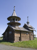 Kizhi, Russia. The Chapel of the Archangel Michael Stock Photography