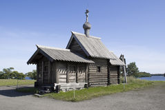 Kizhi, Russia. Church of the Lasarus Resurrection Stock Photos