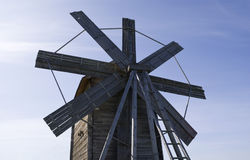 Kizhi, Russia. Windmill (1928) Royalty Free Stock Photos