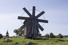 Kizhi, Russia. Windmill (1928) Royalty Free Stock Photo