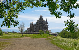 Kizhi Transfiguration Church, Russia Royalty Free Stock Photography