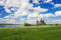 Kizhi Transfiguration Church, Russia Stock Photo