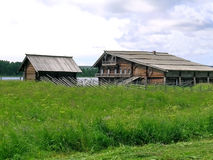 Kizhiboerderij Royalty-vrije Stock Afbeelding