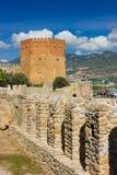 Kizil Kule (det röda tornet) Arkivfoton