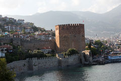 Kizil Kule or Red Tower in Alanya, Stock Photos