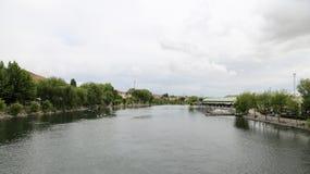Kizilirmak River in Avanos Town, Turkey