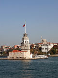 Kizkulesi - Istambul Foto de Stock
