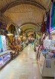 Kizlaragasi Han Bazaar, Smirne, Turchia Fotografia Stock