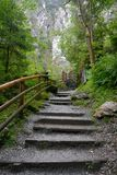 Kizlochklamm σε Taxenbach, Αυστρία Στοκ φωτογραφίες με δικαίωμα ελεύθερης χρήσης