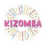Kizomba illustration de vecteur