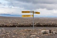 Kjölur Highland Route Stock Images
