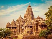 Kjaruharo temples, India Stock Photography
